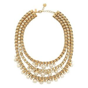 Kate Spade Boxchain Statement Necklace